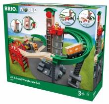 BRIO WORLD LIFT & LOAD RAILWAY