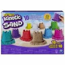 KINETIC SAND 10 PK CASTLE MOUL