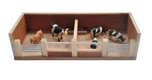 CATTLE HOUSE WITH 2 PENS