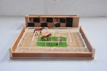 SMALL STABLE & HORSE ARENA