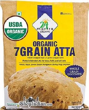24 Mantra 7 Grain Atta 10 Lb