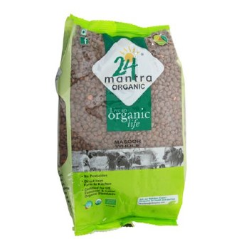 24 Mantra Masoor Whole 4 Lb