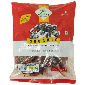 24 Mantra Red Chilli(Whole)