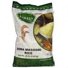 Janata Sona Masoori Rice 20lb