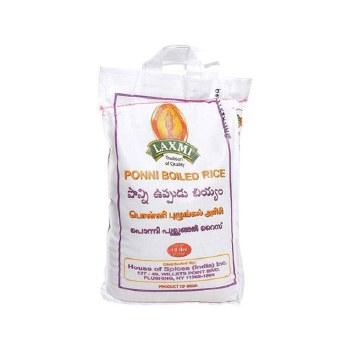 Laxmi Ponni Boiled Rice 10 Lb