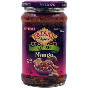 Pataks Mango Relish Pickle 10 Oz