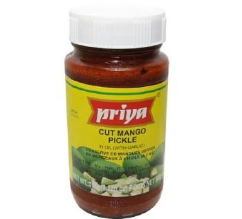 Priya Cut Mango Pickle 8.88 Oz