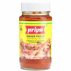 Priya Ginger Pickle Sweet 300 Gms