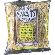 Swad Almond Slivered 14 Oz