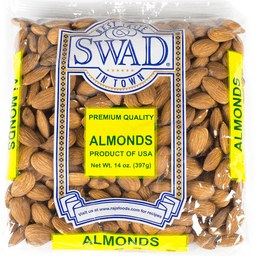 Swad Almonds 14 Oz