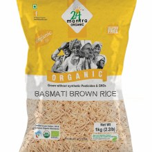 24 Mantra Brown Basmati Rice 10 Lb