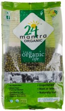 24 Mantra Moong Green Whole 4 Lb