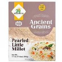 24 Mantra Pearled Little Millet 500 Gms
