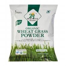 24 Mantra Wheat Grass Powder