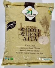 24 Mantra Whole Wheat Atta 20 Lb