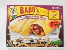 Babu's Chole Bhature 8 oz
