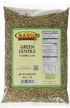Bansi Green Lentils 2 lb