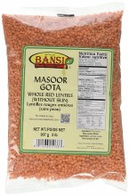 Bansi Masoor Gota 2 lb