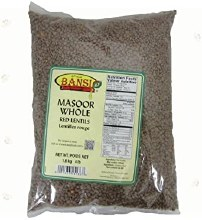 Bansi Masoor Whole 4 lb