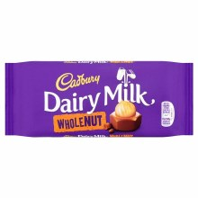 Cadbury Diary Whole nut 120 Gms