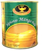 Deep Alphoso Mango Pulp