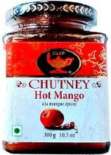Deep Chutney Hot Mango 300gm