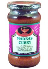 Deep Madras Curry Paste 10 Oz