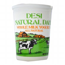 Desi Whole Milk Yogurt 2 lb
