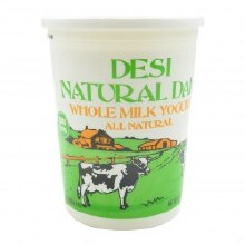 Desi Whole Milk Yogurt 5 lb
