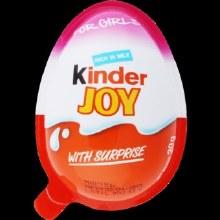 Kinder Joy Candy Girls