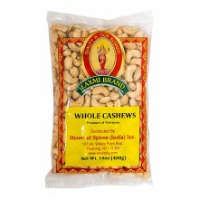 Laxmi Cashew Whole 200 Gms