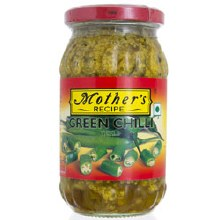Mothers Green Chilli Picklk 500 Gms