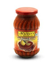Mothers Lime Pickle Hot 500 Gms