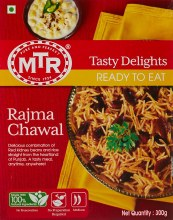 MTR Rajma Chawal RTE