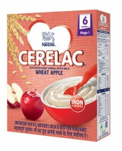 Nestle Cerelac Wheat Apple