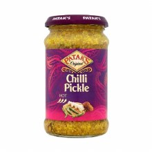 Pataks Chilli Pickle 10 Oz