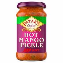 Pataks Hot Mango Pickle 10 Oz