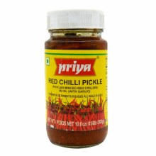 Priya GonguraRed Chilli Pickle 300 Gms