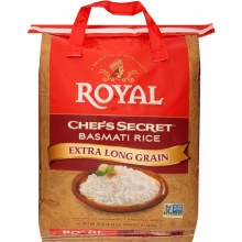 Royal Chef's Basmati Rice 10 Lb