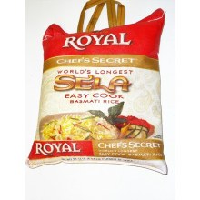 Royal Sela Basmati Rice 10 Lb