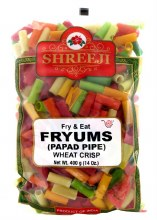 Shreeji Fryums Papad Pipe 400 Gms
