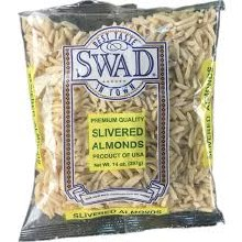 Swad Almond Slivered 14 Oz