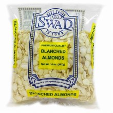 Swad Blanched Almonds 14 Oz