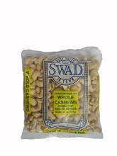 Swad Whole Cashews 14 Oz