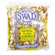 Swad Sliced Almonds 14 Oz