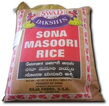 Swad Sona Masoori Rice 20 Lb
