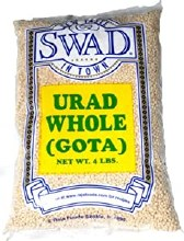 Swad Urad Whole Gota White 4 lb