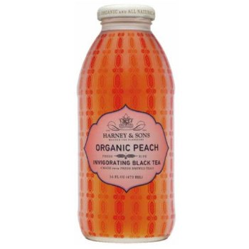 Peach Black Tea Drink 16 Oz