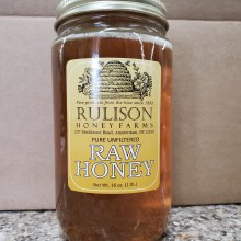 Honey, Raw - 1lb Jar