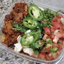 Bowl, Spicy Mex Chicken Rice